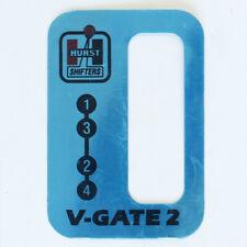 Hurst V Gate 2 Vertical Gate Shifter Boot Top Plate Only 1141653 Slight Bend