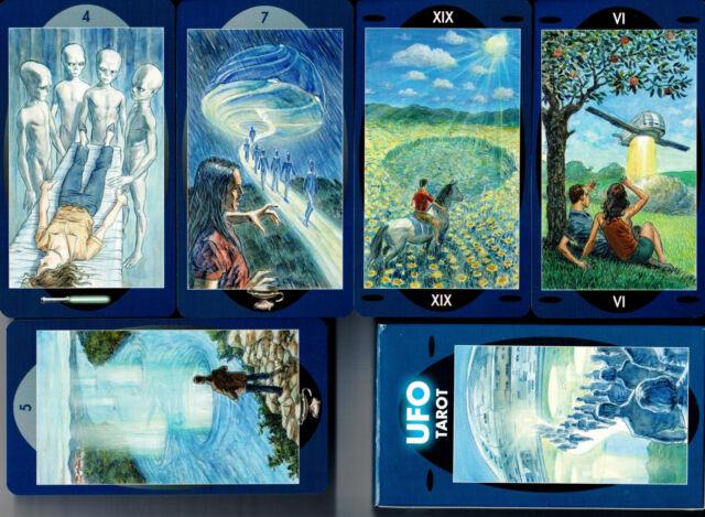 Ufo Tarot  -  Tarotkarten mit Anleitung  NEU OVP