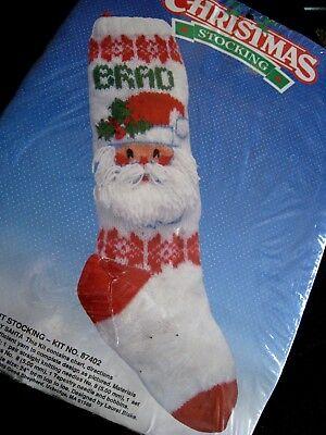 Good Shepherd Christmas Holiday Knit Knitted Stocking Kit ...