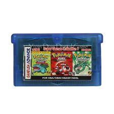 Pokémon Leaf Green/ Ruby Red/ Emerald 22 In 1 Gameboy Advance