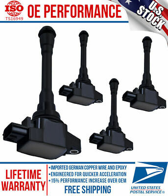 Uf750 Ignition Coil For 2003 2007 Nissan Nv200 Chevy City Express 2 0l Set Of 4 Ebay