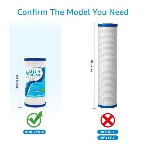 Compatible avec 3 m Aqua-Pure... Aquacrest AP810 Ensemble maison Filtre à Eau