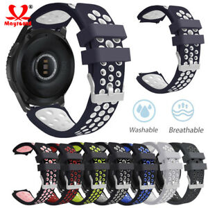Silicone-Bracelet-Strap-Replacement-Watch-Band-For-Samsung-Galaxy-Watch-42-46mm