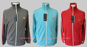 BNWT-Fred-Perry-Mens-Zip-Up-Track-Jacket-Top-RRP-64-99