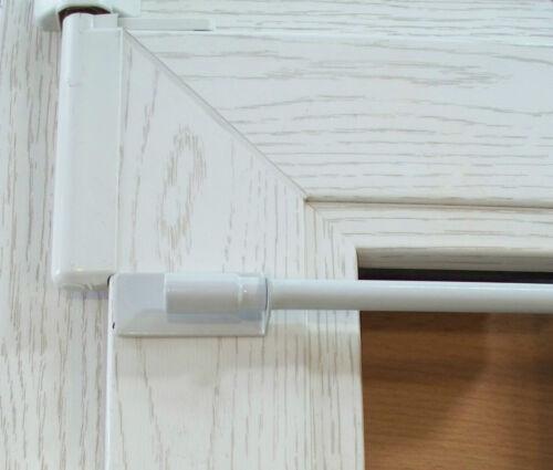 Klebeträger Klebehalter für Klemmstange Vitrage easyfix Klemmfix Lisette 2 Stk