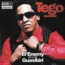Calderon, Tego Enemy De Los Guasibiri CD