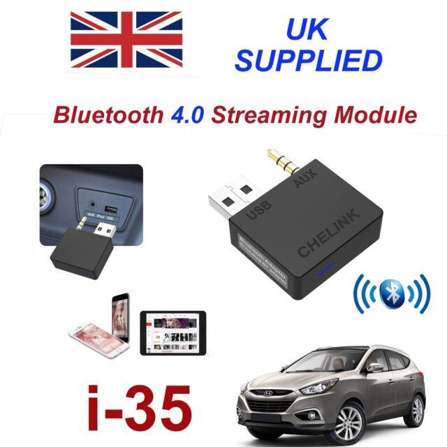 para Hyundai i-35 Música Bluetooth Streaming Módulo Galaxy S6 7 8 9 IPHONE 6 7