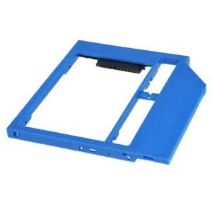 SATA-2nd-HDD-Caddy-SSD-Drive-Bracket-for-9-0mm-SATA-3-0-CD-DVD-Optical-Bay-Tray