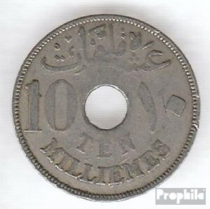 Egypt-KM-No-316-1917-VERY-NICE-COPPER-NICKEL-1917-10-Milliemes-Hussein-came