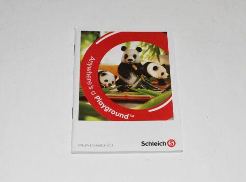 Schleich Katalog === DIN A6 Schleich 2014