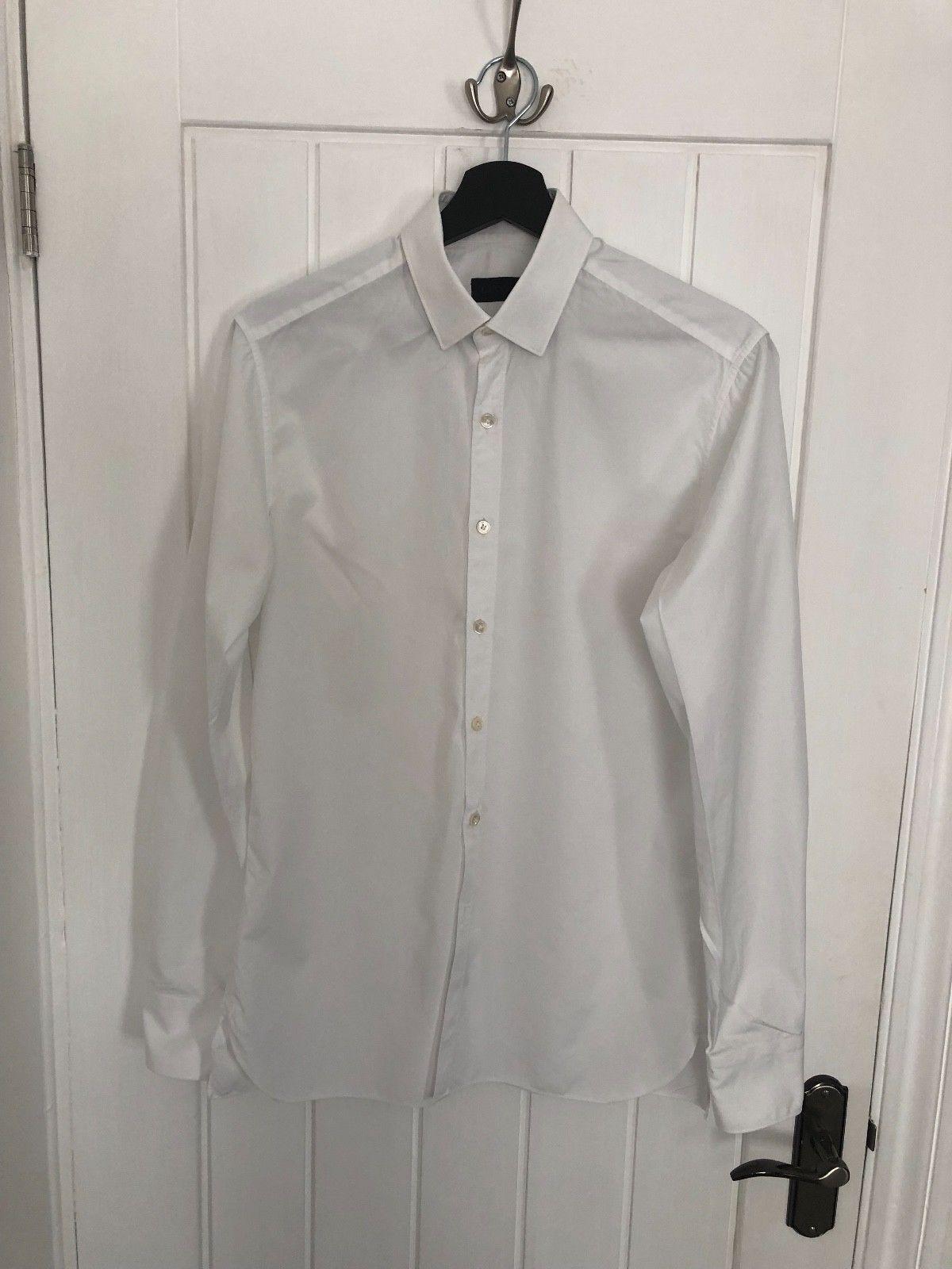LANVIN Uomo SLIM-FIT SHIRT bianca Dimensione COLLAR 15.5'' 15.5'' 15.5'' (39) 63ff40