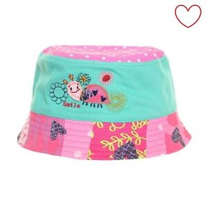 a77c5ee89ca35 Childrens Girls Hat Holiday Beach Wear Kids Baby Summer Sun Bucket ...