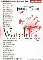 WATCHLIST unabridged audio book on CD by JEFFERY DEAVER