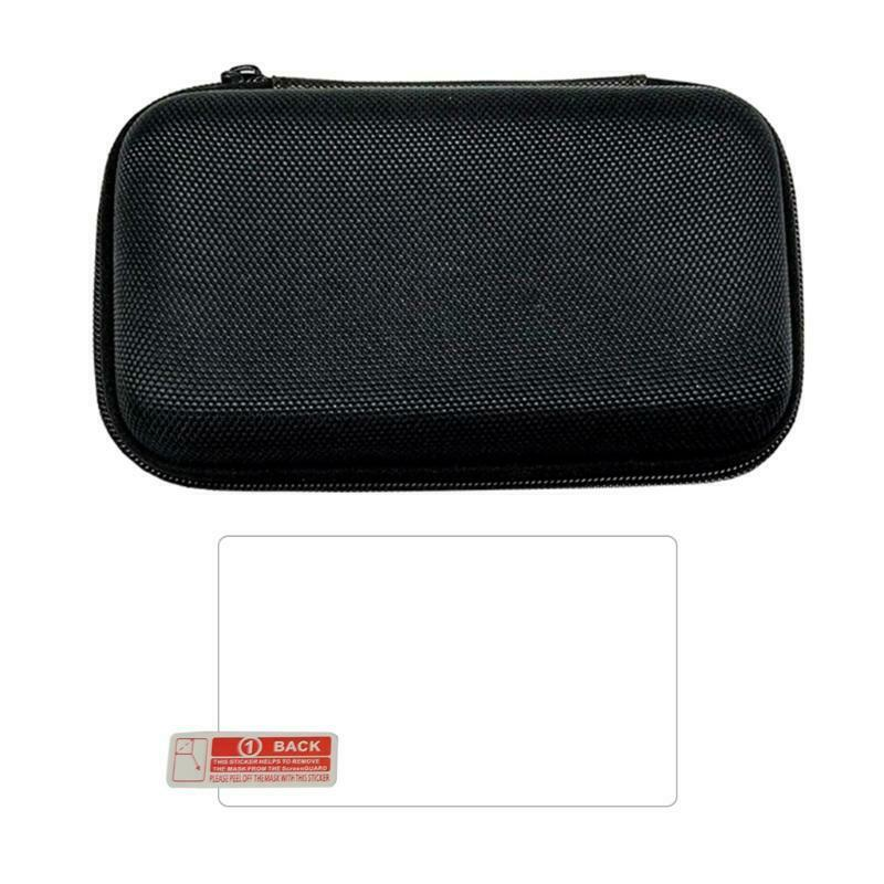 Shockproof Carrying Case for Retroid Pocket 2 Tempered Glass Film & Cable