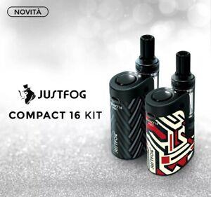 Justfog-q16-pro-Compact-Kit-con-atomizzatore-sigaretta-elettronica-completa-nero