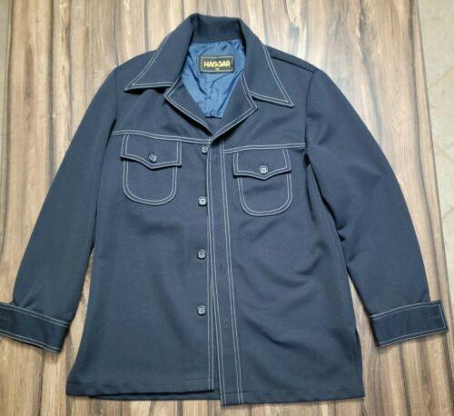 Vintage Haggar Mens Size 38 Leisure Suit Jacket N… - image 1