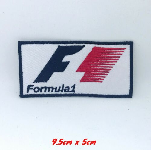Formula One F1 Jacket Iron on Sew on Embroidered Patch applique