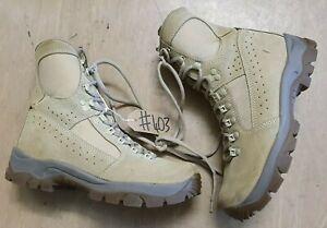 beste plaats op voeten bij echt comfortabel Details about Original Army Issue Leather Meindl MTP Desert Fox Combat  Boots Size 6 UK #403