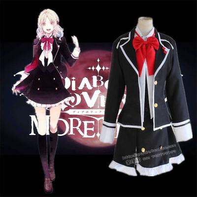 New Dangan Ronpa Genocide Jill Toko Fukawa Cosplay Coat+Dress+Scarf Full Costume