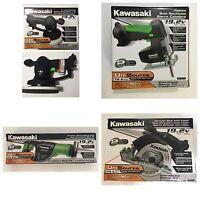 4 Kawasaki 19.2 Volt Cordless Tools Combo