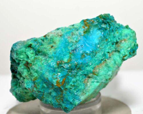 100/% Natural Sin Tratar Azurita Chrysocolla áspero Cabujón piedras preciosas sueltos RN45