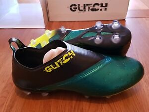 Details about Adidas Glitch 2.0 FG Exert Skin Firm Ground Boots NEW Size 9 Green Outerskin #53