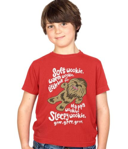 Soft Wookie Warm Wookie Funny Kids Tee Childs Ages 3-13 T-Shirt Various Colours