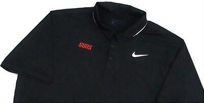 ff81044f Team Issue L large Phoenix Suns Polo Golf Shirt Nike Dri Fit Poly ...