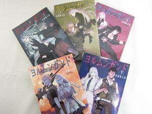 JORMUNGAND-Manga-Comic-Set-1-5-Keitarou-Takahashi-Art-Book-Japan