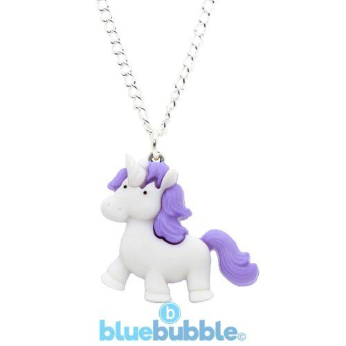 Bluebubble MY BABY UNICORN Necklace Sweet Kawaii Dream Magic Fairytale Animal