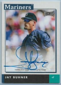 2020-Topps-Archives-Snapshots-Jay-Buhner-On-Card-Auto-Seattle-Mariners-AS-JB