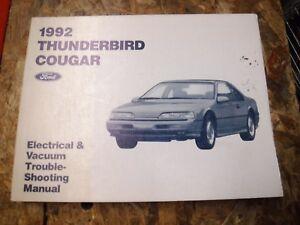 1992 FORD THUNDERBIRD MERCURY COUGAR ELECTRICAL VACUUM ...