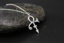 Prince Memorial Symbol Love Logo Necklace the Minimalism Singer Necklace Prince
