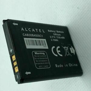 Reemplazo de la batería CAB30B4000C1 oficial Alcatel Original 750mAh 3.7V