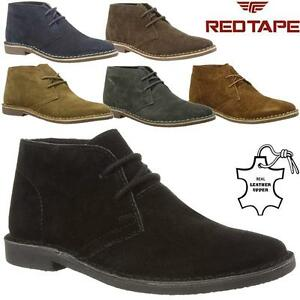 b3c22d29bea Details about Mens Desert Boots RedTape Gobi Suede Leather Casual Walking  Chukka Ankle Boots