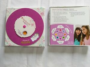 NEW** American Girl Truly Me Activity Card Set ~ Game