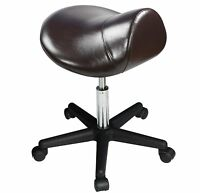 Master Saddle Stool Hydraulic Ergonomic Office Massage Rolling Chair