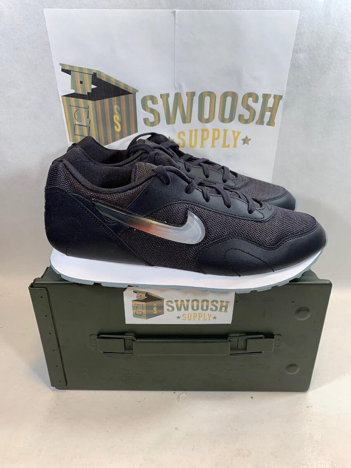 Nike Womens Outburst PRM AQ0086 001 Size 10 Oil Grey White