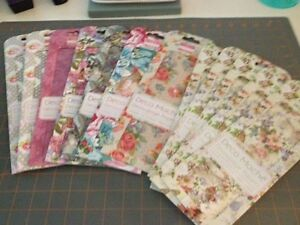 FIRST EDITION Deco Papers/Crafting Tissue - Victorian Florals 12 pkg. Decoupage