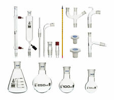 Organic Chemistry Distillation Glassware Set 17 Piece 22 Fittings