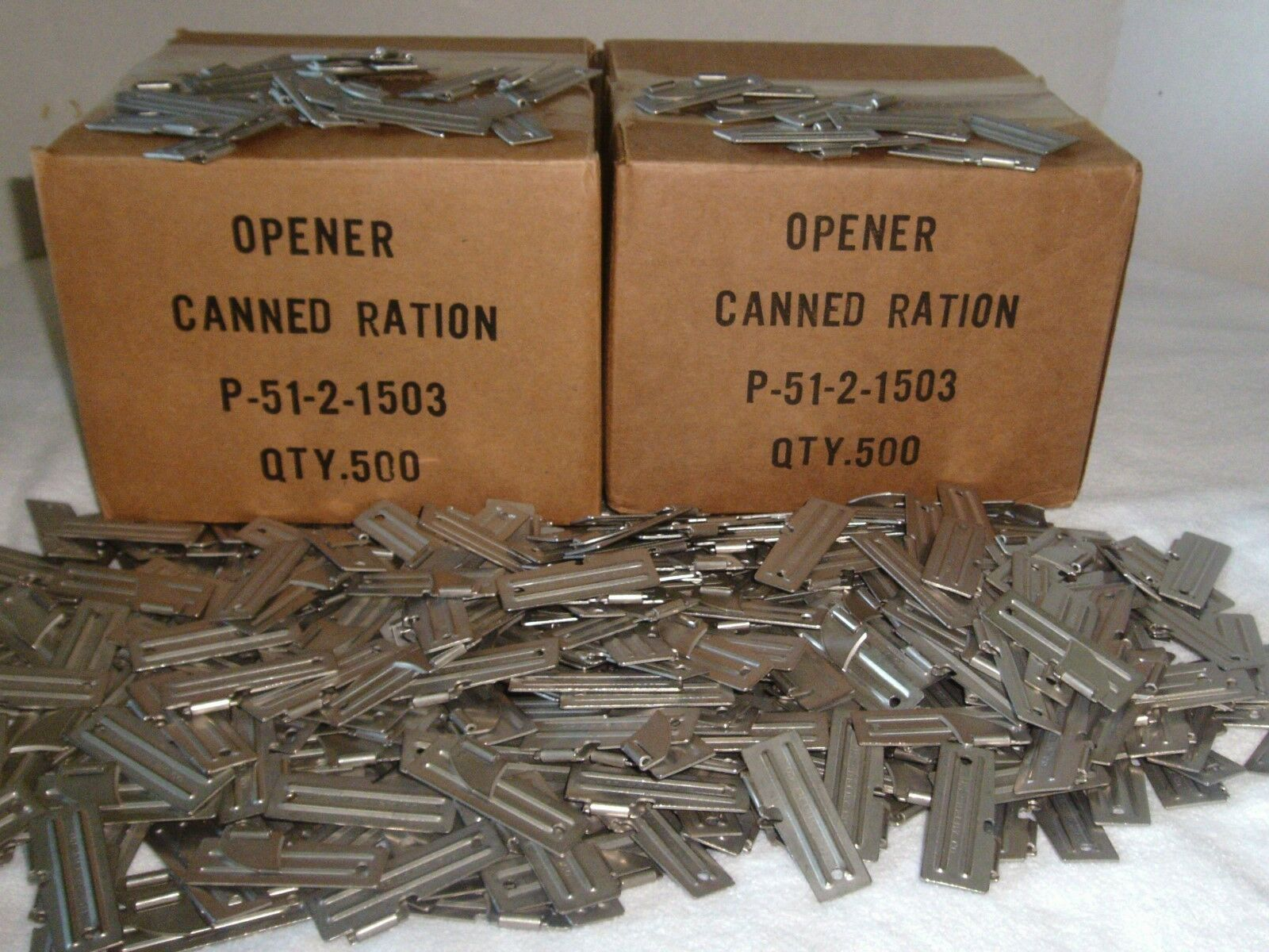 P-51 Can  Opener US Military 100 Piece Authentic Camping Hunting Survival Fishing  quality assurance