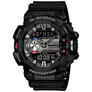 CASIO-G-SHOCK-G-MIX-Bluetooth-Black-Watch-GShock-GBA-400-1A