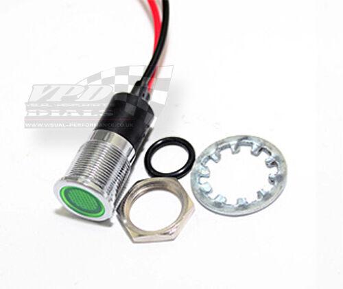 Bulb 14mm Waterproof LED Lamp dash panel warning light indicator 12v car boat