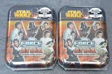 Topps Force Attax Movie Serie 3 Mini Tin Box 2 Stück Sammeldose OVP Star Wars