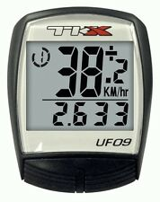 TKX UF09 WIRED BIKE CYCLE COMPUTER - (9 FUNCTIONS)