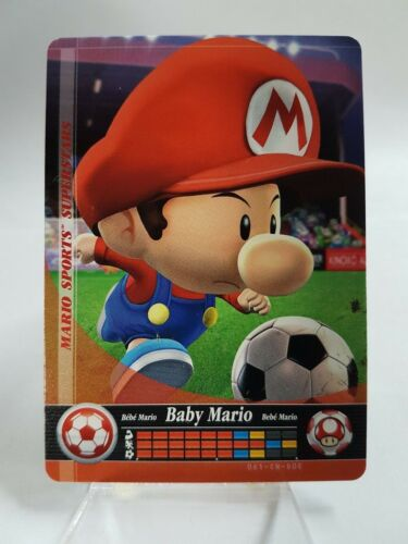 YOU PICK FROM LIST Mario Sports Superstars Amiibo Card 1-90