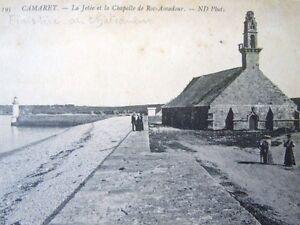 Carte Postale Camaret La Jetée Et La Chapelle De Roc-amadour éditions Nd Phot Gohnufxd-10131253-795514710