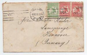 1913 Lettre Australie Pour Allemagne A Voir Excellente Qualité