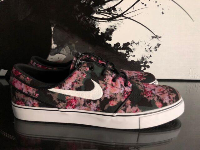 100% authentic d5870 ccd21 Nike SB Zoom Stefan Janoski Premium Floral Digi Camo 482972-900 Size 12  Noboxtop
