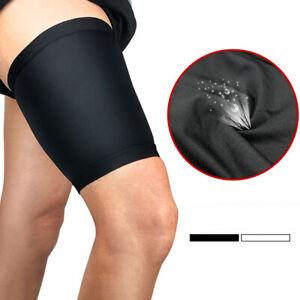 NE-Sport-Leg-Thigh-Brace-Support-Stretch-Sleeve-Compression-Leg-Newly